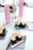 Mini Desserts bursting with flavor.