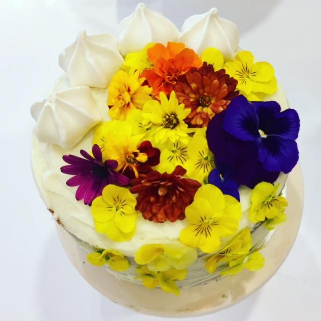Lemon Petit Cake