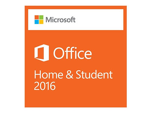 MS Office Home and Student 2016 Win P2 EuroZone 1 License Medialess