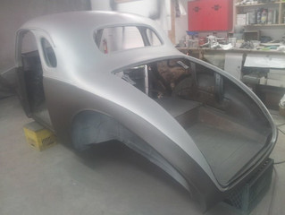 Left rear quarter panel