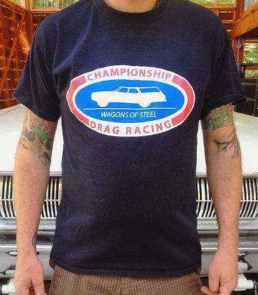 Wagons Of Steel Logo T-Shirt