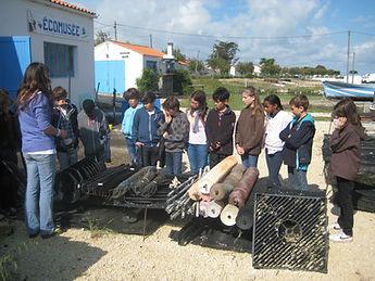 Atelier L'huître et l'ostréiculture