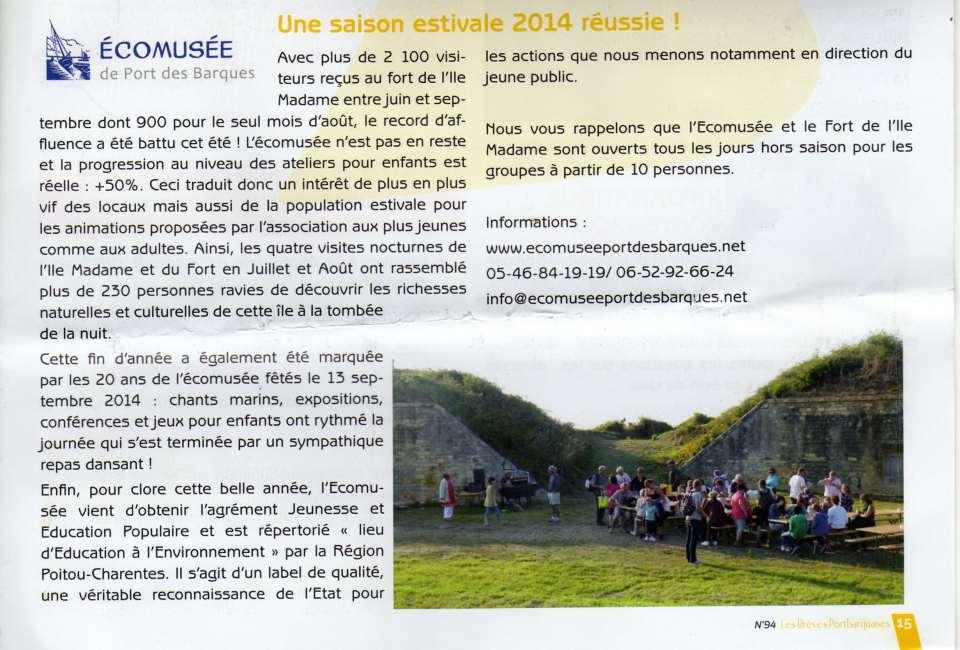 Bulletin municipal PDB 2014