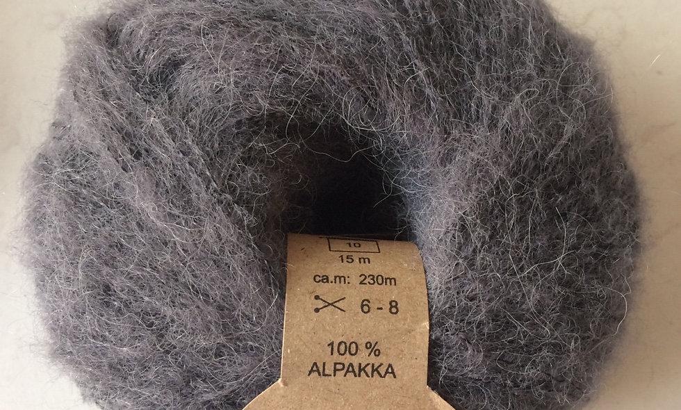 Alpakka (mellemgrå)