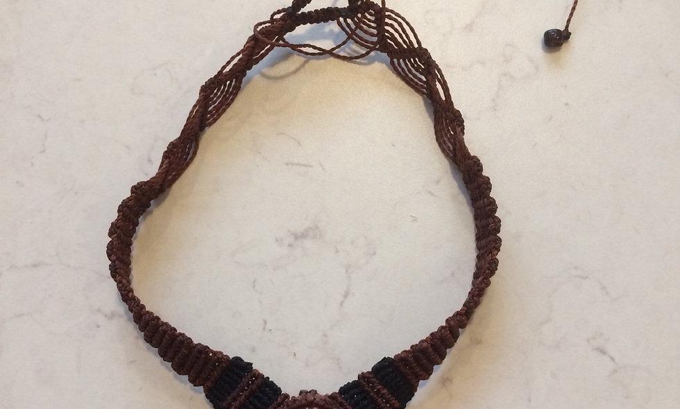 Macrame halskæde