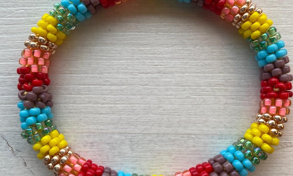 KIT til Regnbue armbånd
