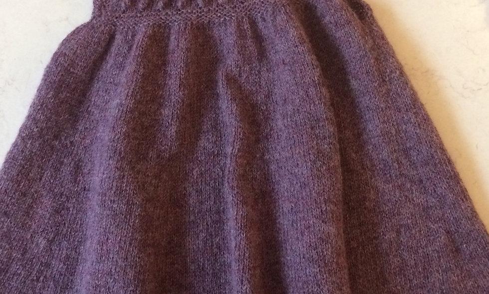Strikket kjole (str 2 år)