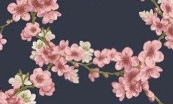 Soft sweat navy blossom (pr 25 cm)