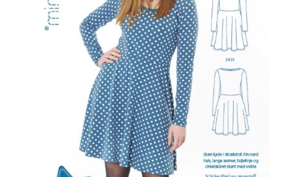 MINI KREA jersey kjole str. 34-50
