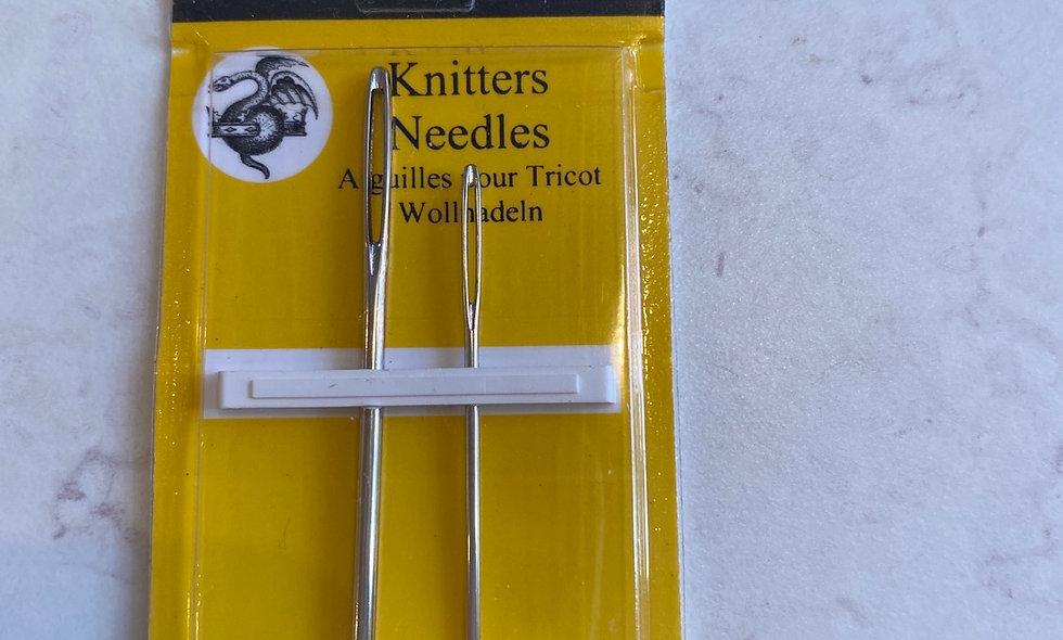 Strikke nåle