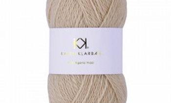 Beige (økologisk uld)