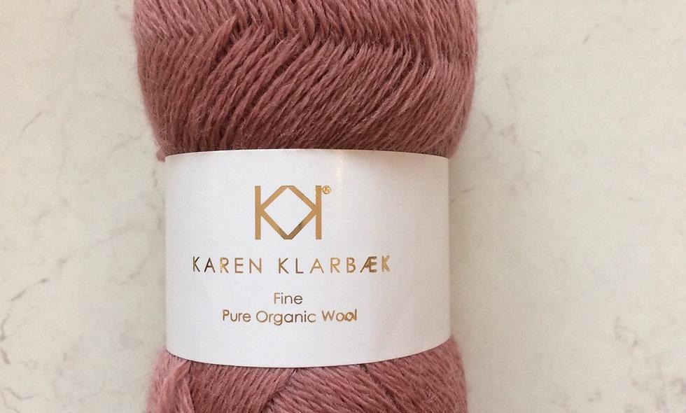 Dark Rose- KK fine pure organic wool