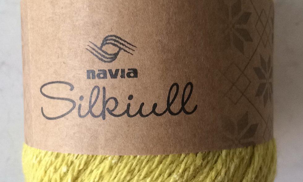 NAVIA silkeuld (gul)