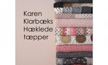 """Hæklebog """"Karen Klarbæks hæklede tæpper"""""""