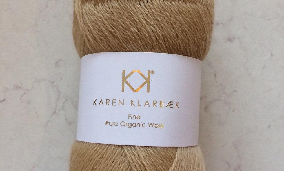 Nature Golden  - KK Fine Pure Organic Wool - økologisk uldgarn fra Karen Klarbæk