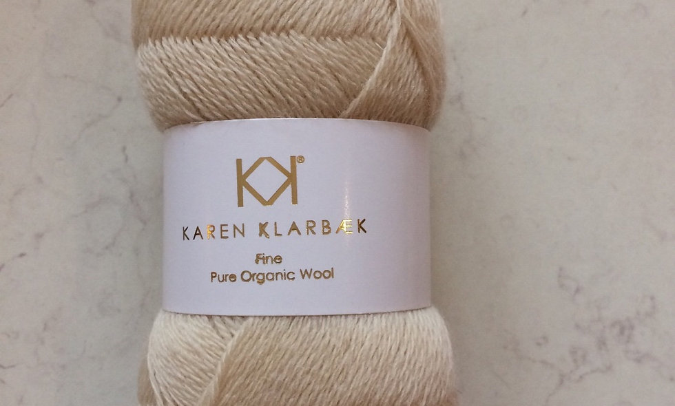 Nature White - KK fine pure organic wool