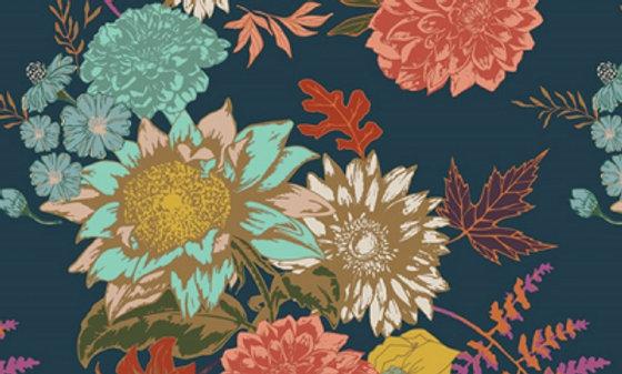 Art Gallery Fabric FLORA GLOW (pr 25 cm)
