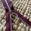 Thumbnail: Lynlås 35 cm - vinrød