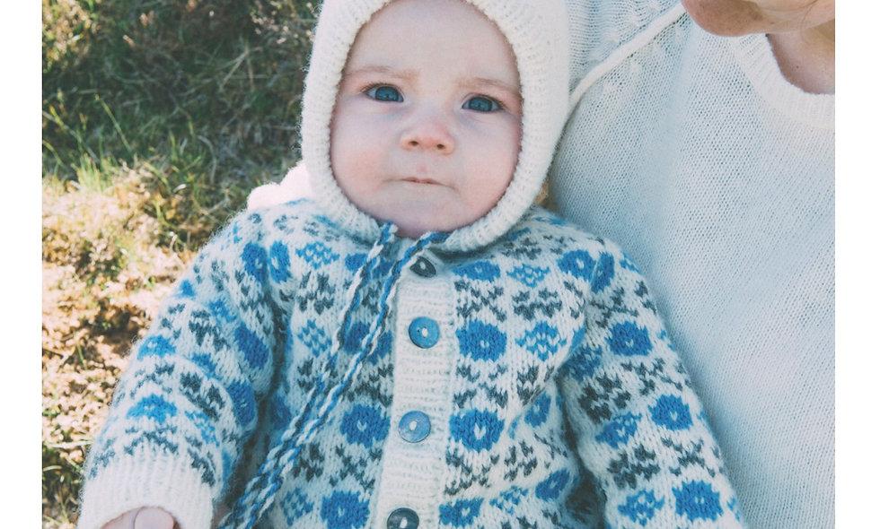 E-opskrift (baby jakke)