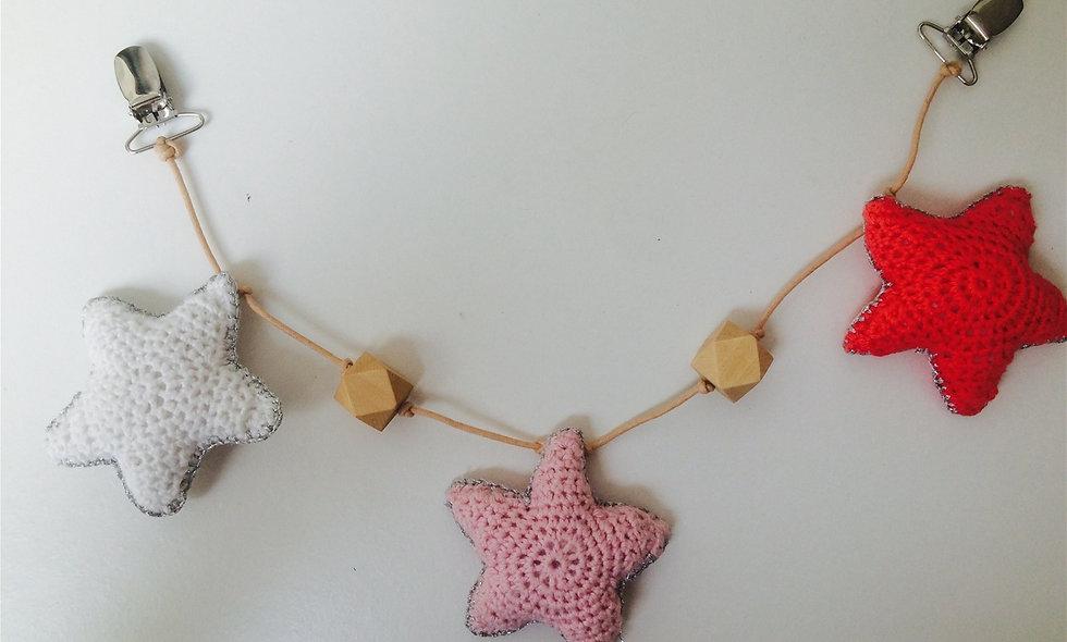 Barnevognskæde (stjerner)