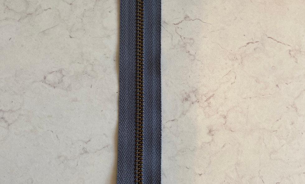 Lynlås 20 cm - grå