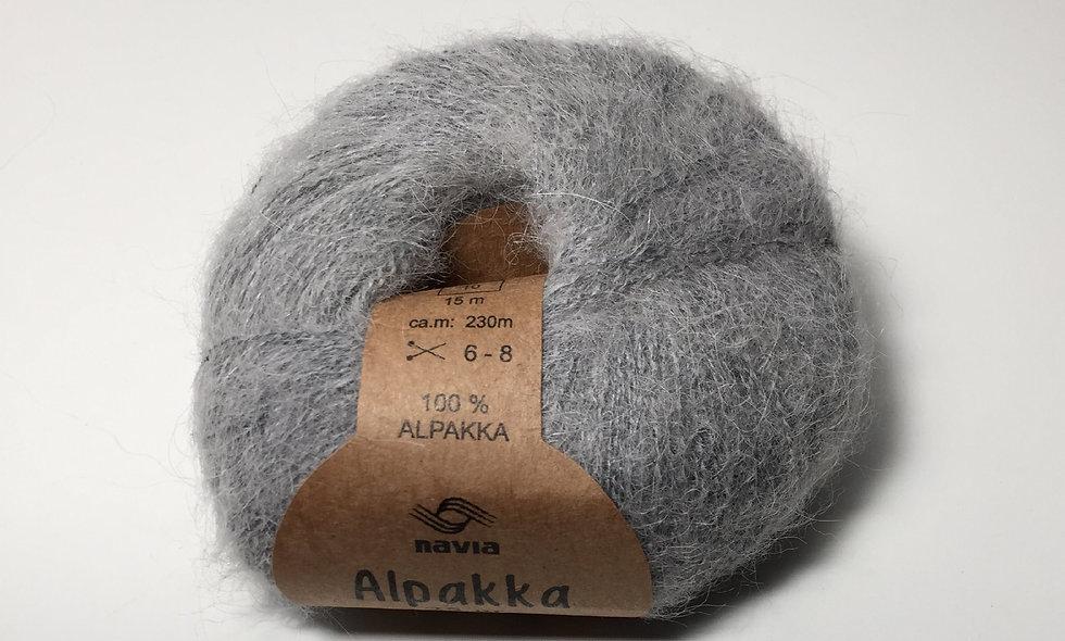 Alpakka (lys grå)