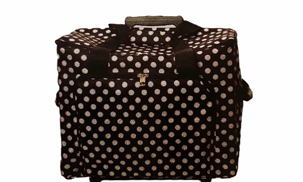 Trolley til symaskine  - dots