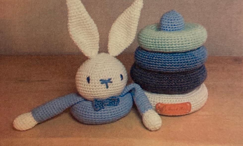 KIT Hæklet stabel-kanin