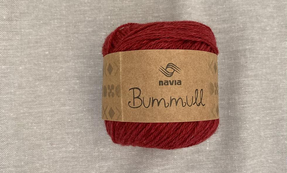 NAVIA Bummull (rød)