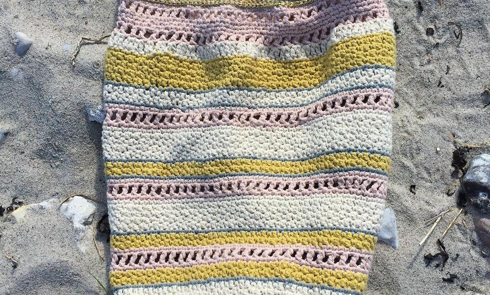 MAMA KARMA - Hæklet strandtaske