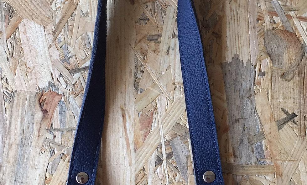 Læderhank (blå)