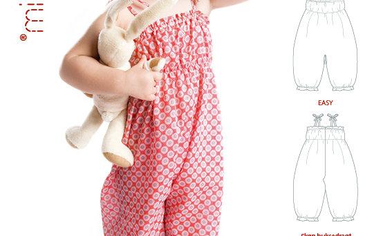 MINI KREA buksedragt str. Baby 1/2 - 3 år