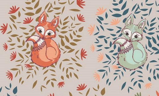 Art Gallery Fabric FOXES (pr 25 cm)