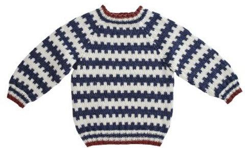 Mønstertrøje (strikkeopskrift)
