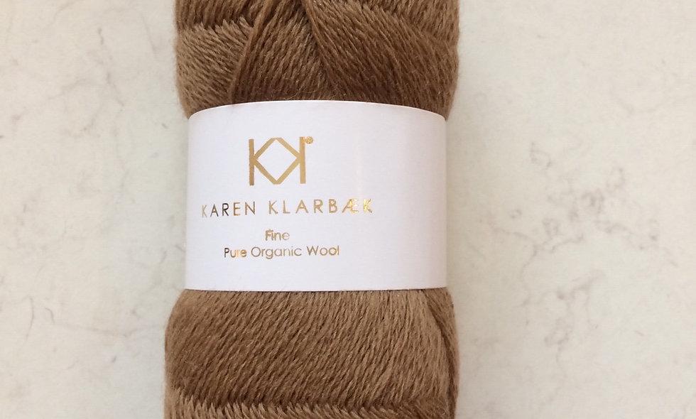 Bronze -  KK Fine Pure Organic Wool - økologisk uldgarn fra Karen Klarbæk
