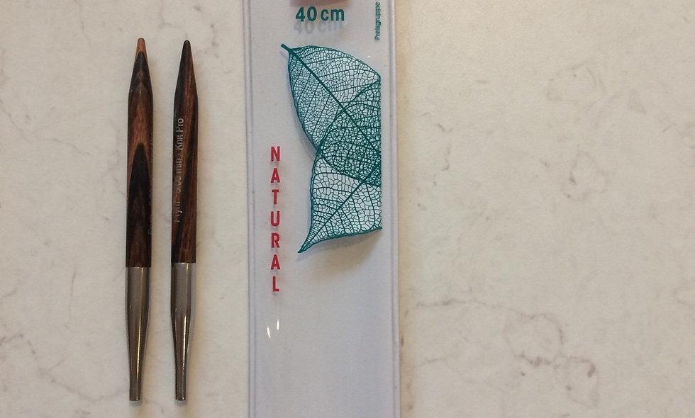 Knit Pro  6.00  mm /40 cm kabelpinde