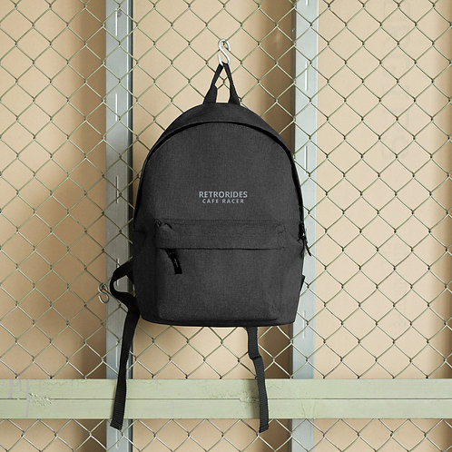 Retrorides Embroidered Backpack