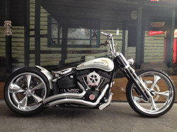 harley davidson rocker chopper