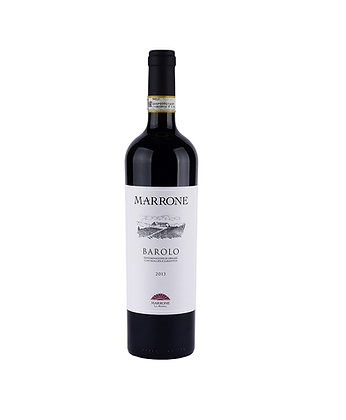 MARRONE - BAROLO docg 2013 Red Wine