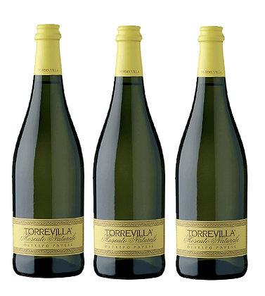 Torrevilla - MOSCATO NATURALE 甜汽酒 x 3枝