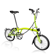 brompton lime green believe