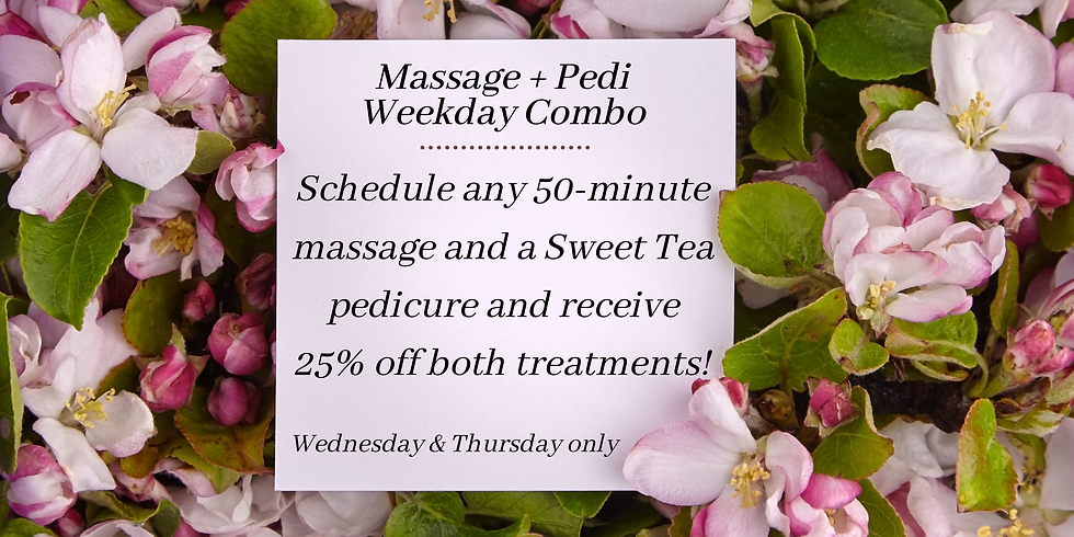 Schedule any 50-minute massage and a Swe