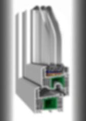 Salamander Termopan Termopane Profile PVC Tamplarie