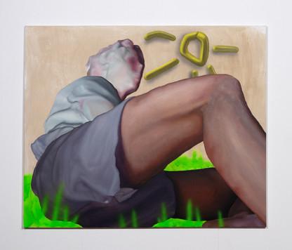 Boy On Meadow