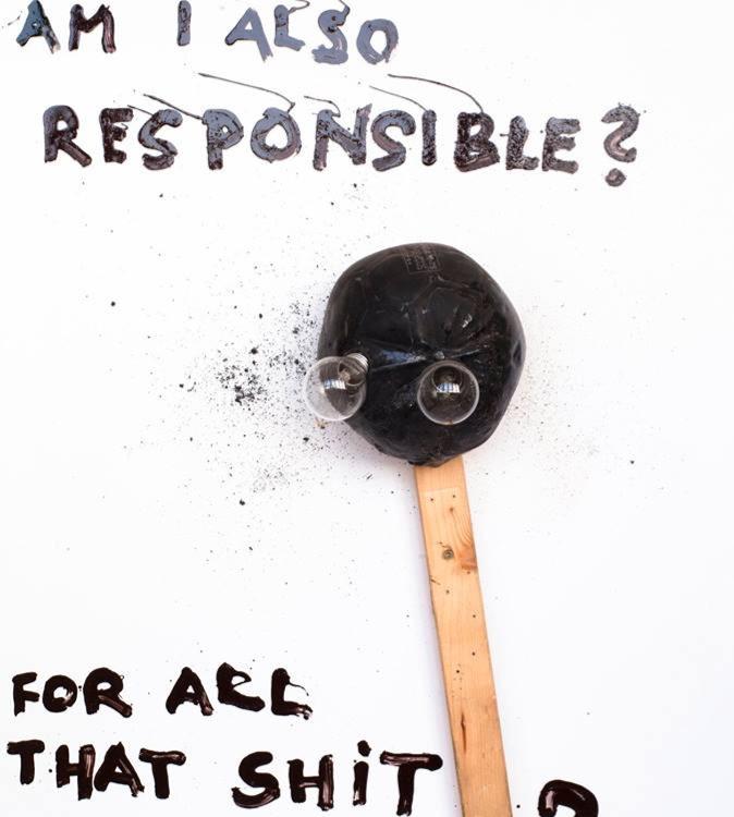 Am I also responsible ? For all that shit around ? - Kristof Kintera