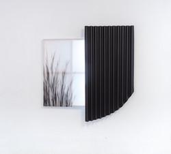 Raum IV, 2018, Cypresse Black on canvas,