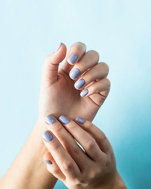 blue-manicure-female-nails-blue-backgrou