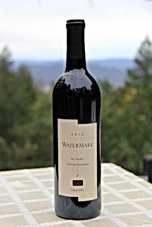 WaterMark Wine 2012 Mt Veeder Cabernet, 91 points, Phil Steinschriber