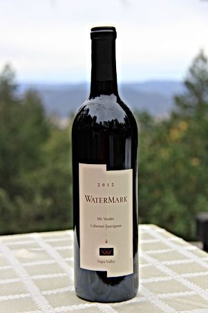 WaterMark Wine 2012 Mt Veeder Cabernet, 91 points, Phil Steinschriber