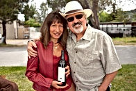 Phil and Diane Steinschriber with WaterMark Cabernet Sauvignon